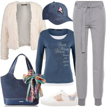 Outfit Borsa con fiocco