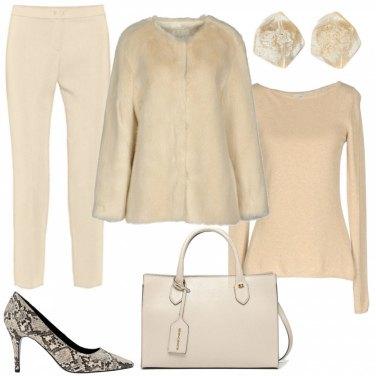 Outfit Gradazioni di beige