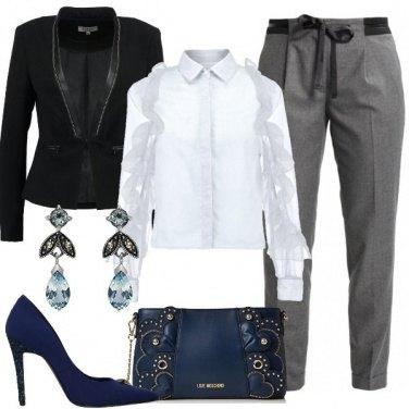 Outfit Una camicetta chic