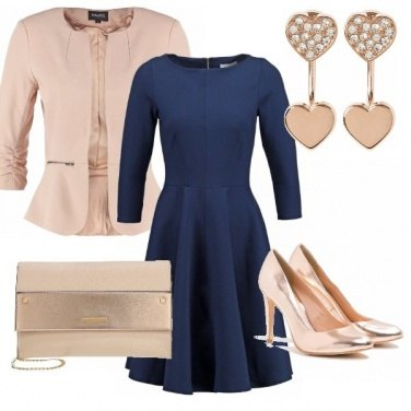 Outfit Oro rosa