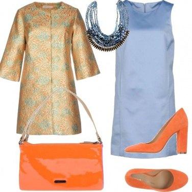 Outfit Cerimonia in pastello