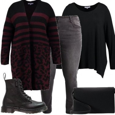 Outfit Il cardigan over