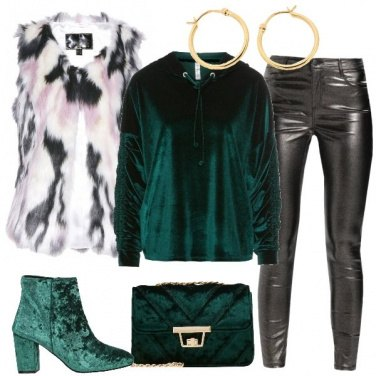 Outfit Velluto verde