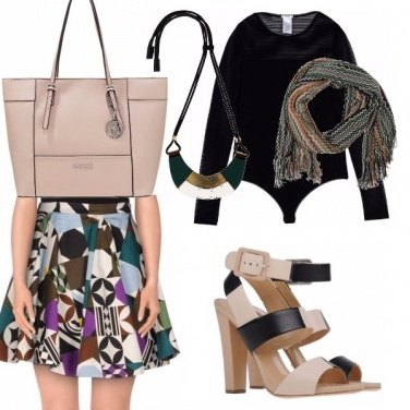 Outfit Retrò style