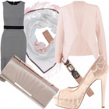 Outfit Cipria... e righe