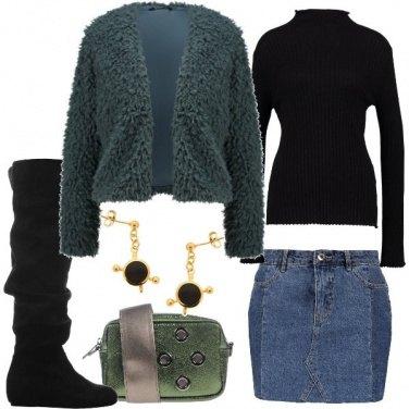 Outfit Denim e cuissardes