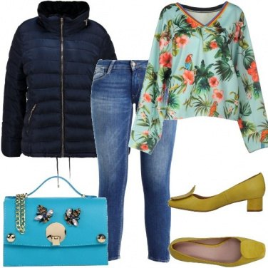 Outfit Fantasie tropicali