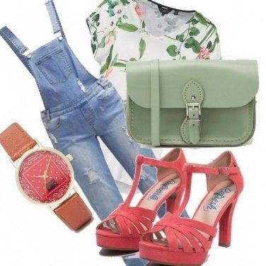 Outfit Salopette...