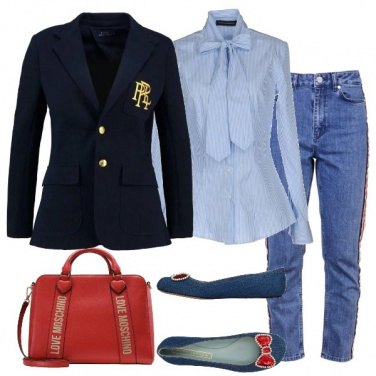 Outfit Bon Ton in jeans