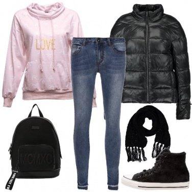 Outfit Studentessa con stile