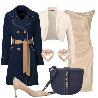 Outfit Trench e tubino
