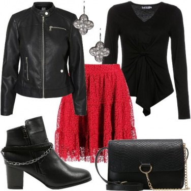 Outfit Giacca biker