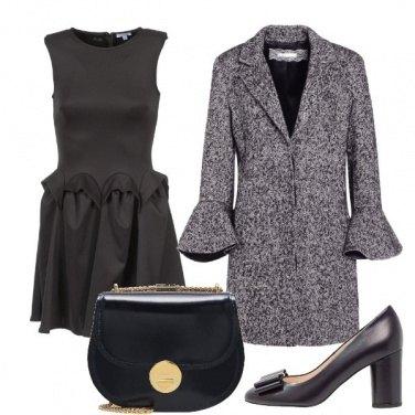 Outfit Vestito arricciato