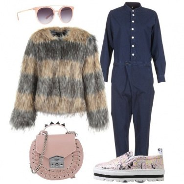 Outfit Outfit Trendy pelliccia