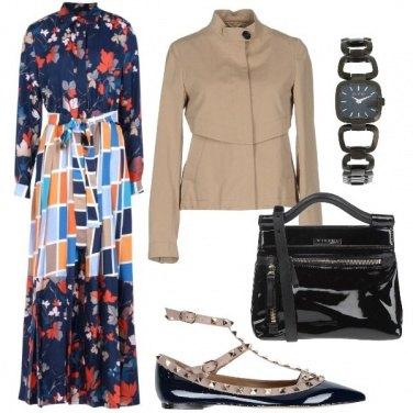 Outfit Eleganza colorata
