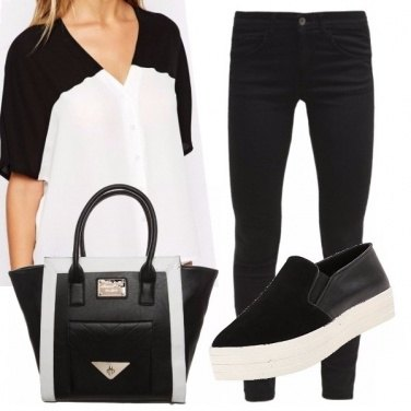 Outfit Bicolored
