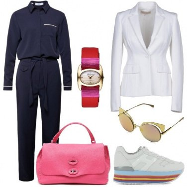 Outfit Elegante con le sneakers