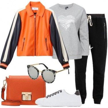 Outfit L\'energia dell\'arancione