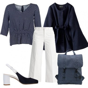 Outfit Lo zainetto microfantasia