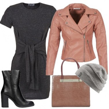 Outfit L\'abito corto in maglia