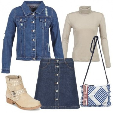 Outfit Ragazza in jeans