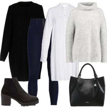 Outfit Outfit Basic #1019-2018