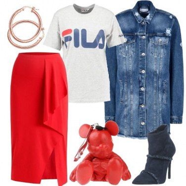 Outfit Outfit Trendy #1222-2018