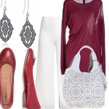 Outfit Ballerine e bicolor