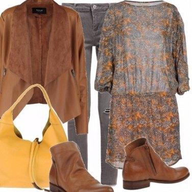 Outfit Un guizzo di colore!