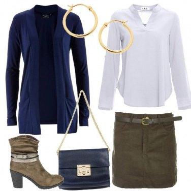 Outfit Abbinamenti con il kaki