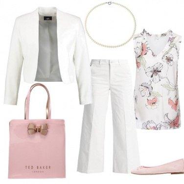 Outfit Fiori di perle