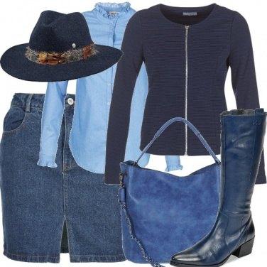 Outfit Sfidando il freddo