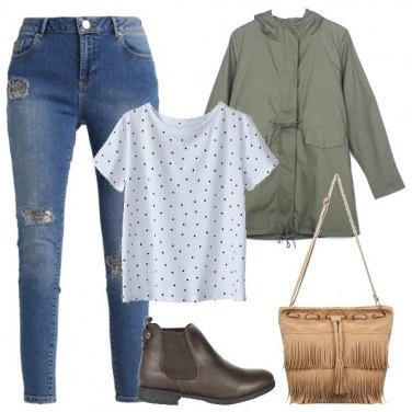 Outfit Outfit Basic #1038-2018