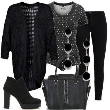 Outfit Un body a pois