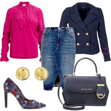 Outfit Longuette in jeans