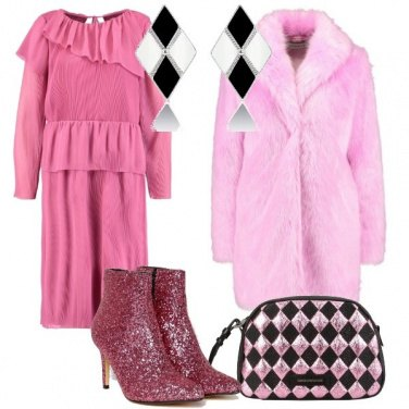 Outfit Rosa appariscente