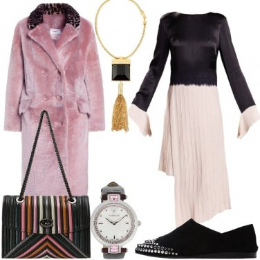 Outfit Il vestito bicolore