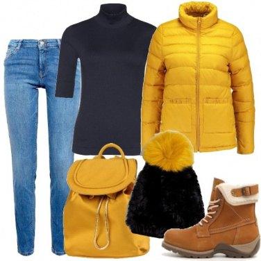 Outfit Sfidando la neve
