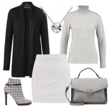 Outfit Stivaletti a quadri