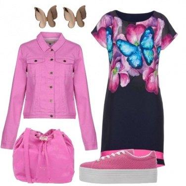 Outfit Un volo di farfalle