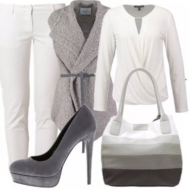 Outfit Love grey