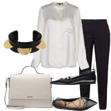 Outfit In nero e bianco