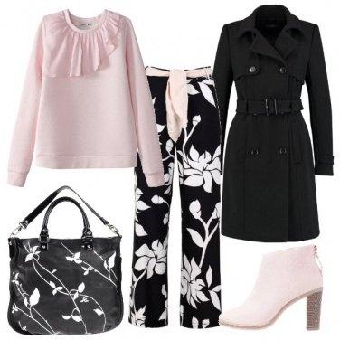 Outfit I pantaloni floral