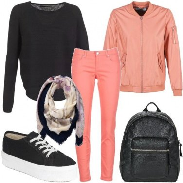 Outfit Le sneakers con zeppa