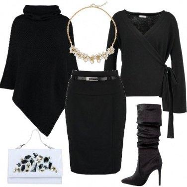 Outfit Il nero chic