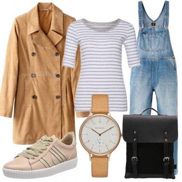 Outfit Salopette denim
