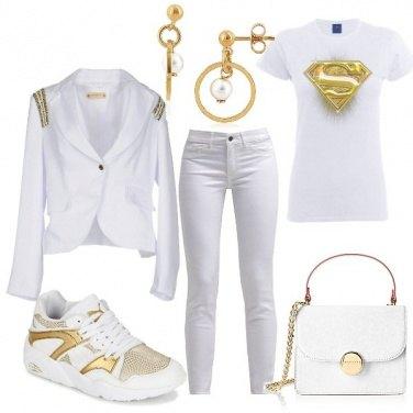 Outfit Una ragazza d\'oro