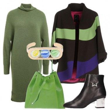Outfit Il tocco di verde