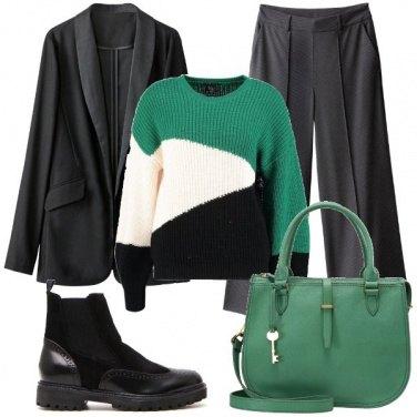 Outfit Borsa verde