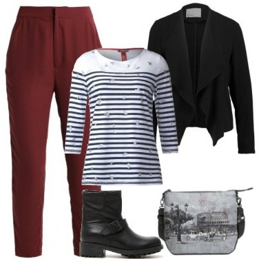Outfit Outfit Basic #1136-2018